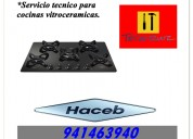 941463940 haceb cocinas vitroceramicas servicio tecnico