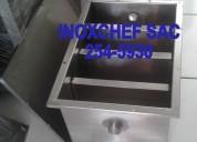 Stock trampas de grasa para lavaderos acero inox 2545930