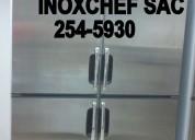 Mesas frias camaras berjaya acero inox stock lima 2545930 inoxchef