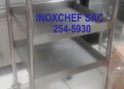 Coche para carga pesada acero inoxidable 2545930