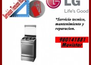 980141881 lg servicio tecnico para cocinas lg en lima