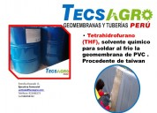 Pegamento thf  para geomembrana pvc