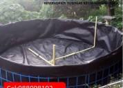 Venta de criaderos para la crianza de tilapia y trucha / geomembrana