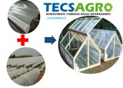 Venta de agrofilm / plástico agricola para invernaderos tricapa / cel:988098192