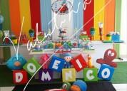 Pocoyo ,fiestas  infantiles  ,decoraciones temáticas , candy bar  en lima