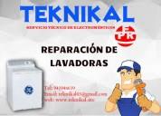 Servicio tecnico de lavadoras, teknikal, tel: 941946619