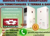 Sakura  servicio técnico garantizado en  mantenimiento