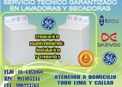 Secadora  frigidaire servicio tecnico garantizado