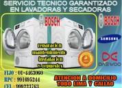 Mantenimiento y reparacion de lavadoras marca bosch