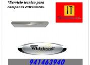 941463940 servicio tecnico para campanas whirlpool lima