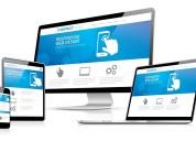 Diseño web administrable más hosting y dominio el 1er año a 365 soles