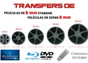 Convertir de películas 8mm a usb o dvd