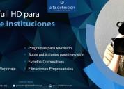 Alta definición servicios audiovisuales