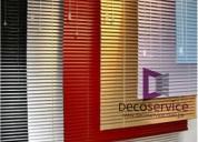 Confección y ofrecemos servicio de mantenimiento de persianas