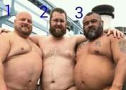 Oso activo 44 busca pasivos muy gordos obesos sumisos