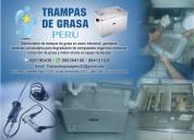 Distribuidora de trampas de grasa peru en acero inoxidable e industrial