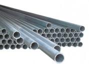 Vendo 103 tubos de fierro galvanizado de 2 pulgadas x 2.20 mts