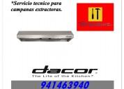 941463940 mantenimiento para campanas dacor en breÑa y jesus maria