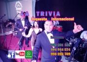 Orquesta la trivia orquesta show año nuevo en lima para fiestas matrimonios cumpleaÑos