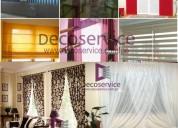 Lavado de cortinas servicio recojo y entrega a domicilio en decoservice