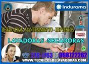 Profesionales-reparación de lavadoras indurama 998722262-miraflores