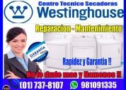 Soporte tecnico white westinghouse 7378107 secadoras-los olivos