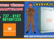 Tecnicos a domicilio 7378107 servicio lavavajillas westinghouse-san isidro