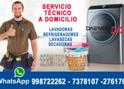 Mantenimiento correctivo de secadoras daewoo-magdalena del mar