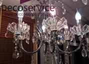 Decoservice venta de arañas y lámparas de cristal somos fabricantes