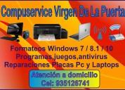 Reparación  computadoras y laptops a domicilio en trujillo