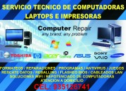 servicio técnico de computadoras /o laptops a domicilio en trujillo