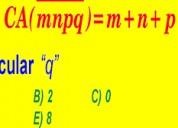 Matematicas surco, san borja.