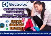 Profesionales en reparaciones de lavadoras electrolux 998722262