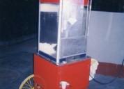 Maquina cancha pop corn venta nueva