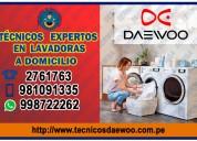 Servicio técnico daewoo -secadoras- 998722262 la molina