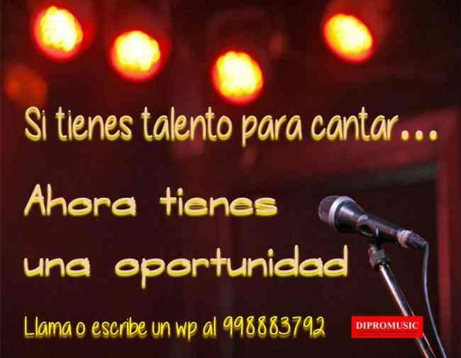 Talento para cantar