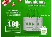 Bolsas ecolÓgicas publicitarias - ¡oferta navideÑa!
