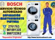 Servicio técnico bosch secadoras la molina 998722262