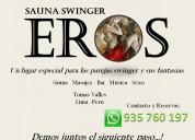 Eros sauna swinger. has tus fantasías realidad! – 40