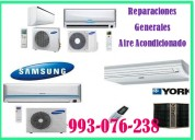 Reparaciones y mantenimiento de aire acondicionado 993-076-238