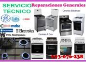 Servicio de mantenimiento de cocinas a gas y electricas 993-076-238