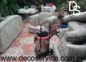 Desinfectamos y lavamos muebles y alfombras en decoservice
