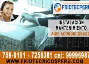 «mantenimientos preventivos de« aire acondicioando» 7590161- surco