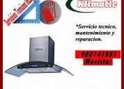 980141881 reparacion y mantenimiento para campanas klimatic