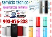 reparaciones y mantenimiento de refrigeradoras 993-076-238