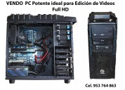 Vendo mi pc super poderosa ideal para diseño, modelado 3d y render de edicion de video full hd y  4