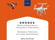 Foto y video con drones profesionales