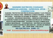 Ingeniero electricista 999492068 / 970226157