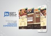 Páginas web arequipa, apps