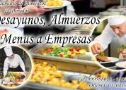 Delivery de almuerzos y alimentaciÓn para empresas